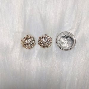 Jewelry - Tiny Pink Crystal Studs
